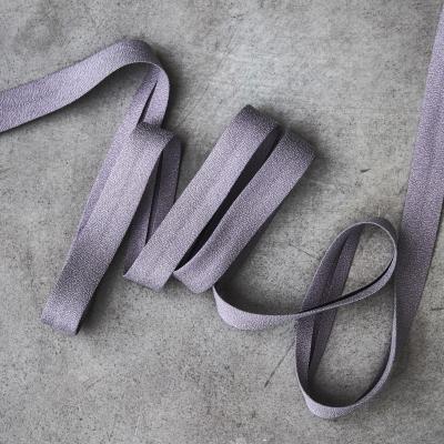 Crispy Crepe Bias tape, 13 mm - Purple Haze