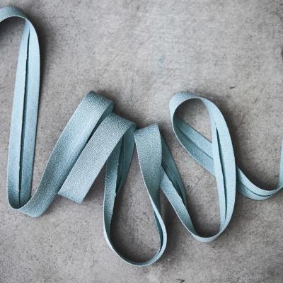 Crispy Crepe Bias tape, 13 mm - Blue Mist