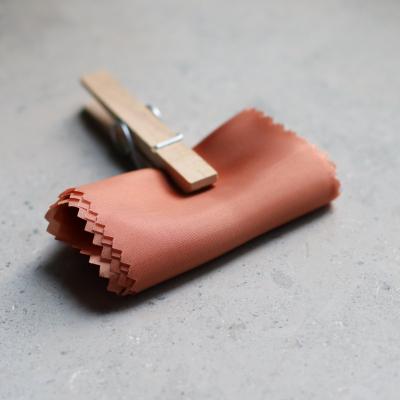 REMNANT 65x140 // Light cupro lining - Brick