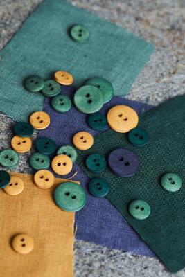 Curb Cotton Button 11 mm