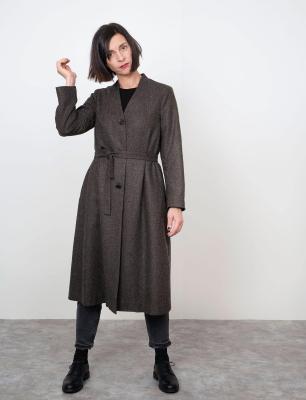 V-Neck Coat
