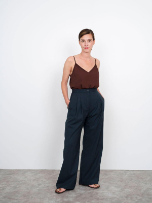 High-waisted Trousers (XS-L)