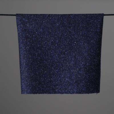 Pirol Uldflannel - blå