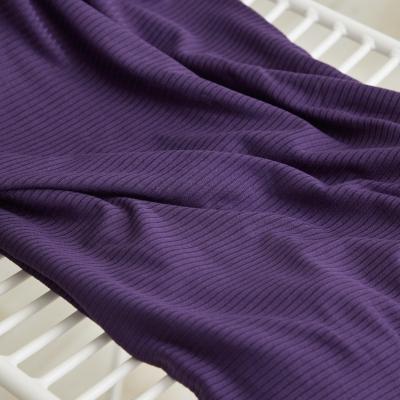 Derby Ribbed Jersey - Purple Night