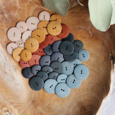 Palm Buttons, 15 mm