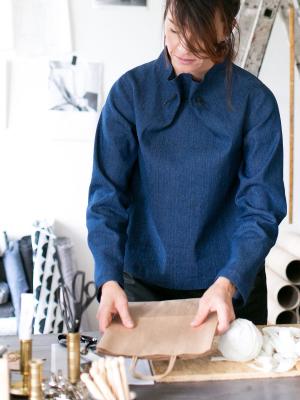 Elastic Tie Sweater (XL-3XL)