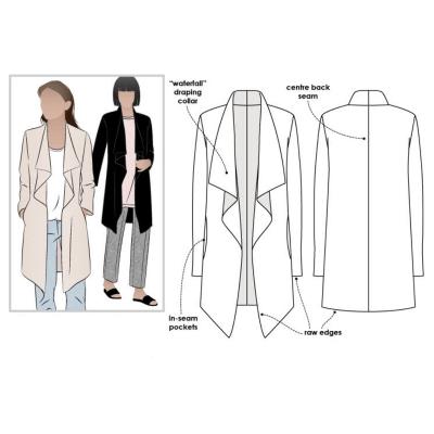 Estelle Ponte Jacket (size 4-16)