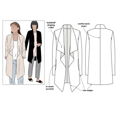 Estelle Ponte Jacket (size 18-30)