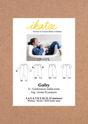 Gaby Unisex PJ jumpsuit (3-12)