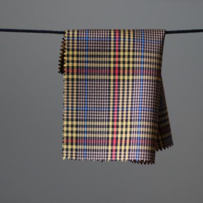 Myra Plaid - Light wool/viscose