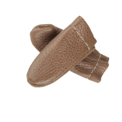 Finger protection, leather
