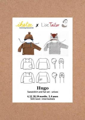 Hugo Sweatshirt + Hat (6M-4Y)