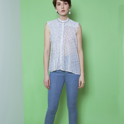 Le 503 - Pleated top