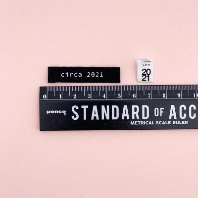 CIRCA 2021 - woven label