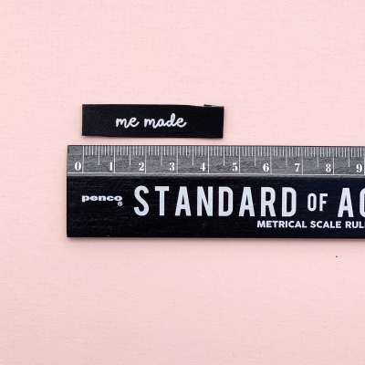 ME MADE - woven label