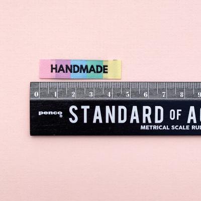 HANDMADE - woven label
