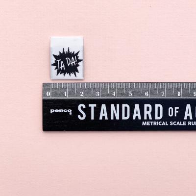 TA-DA - woven label