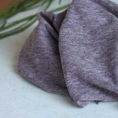 Organic Brushed Pique - Grape