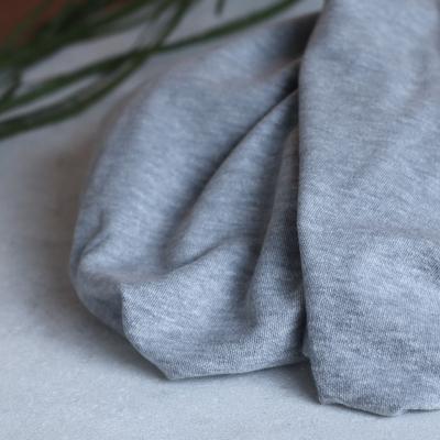 Organic Brushed Pique - Light grey