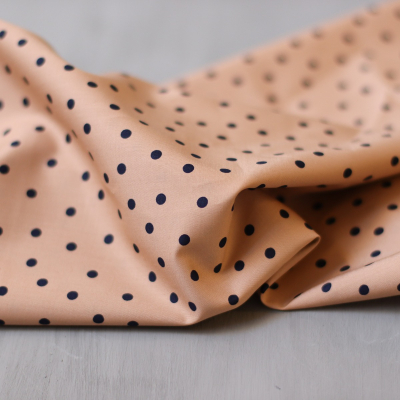 Little Dot Rose - Cotton/Viscose