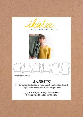 Jasmin Sweatshirt  (3-12)