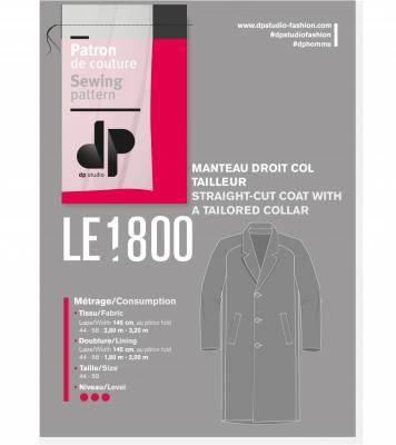 Le 1800 - Straight cut coat
