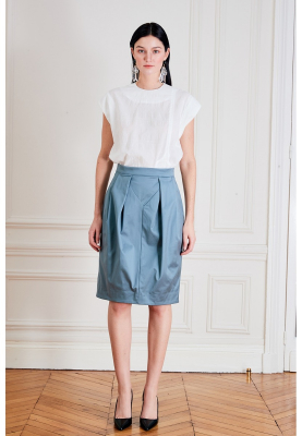 Le 412 - Flared and drapey skirt
