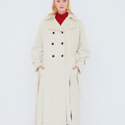 Le 700 - Double-breasted coat/trench