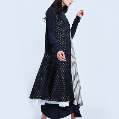 Le 916 a+b - Asymmetric Cardigan Dress