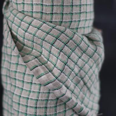Jules Check Linen - Green