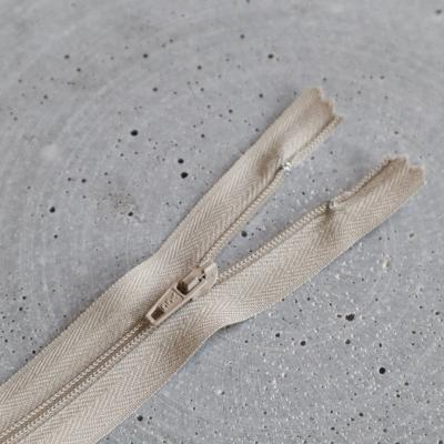 Zipper, spiral 4mm - Beige
