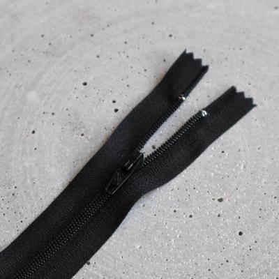 Zipper, spiral 4mm - Black