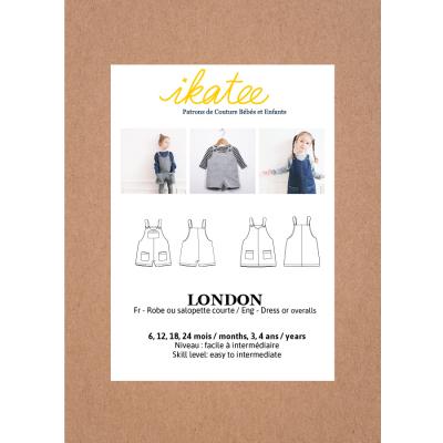 London Overalls/Dress (6M-4Y)