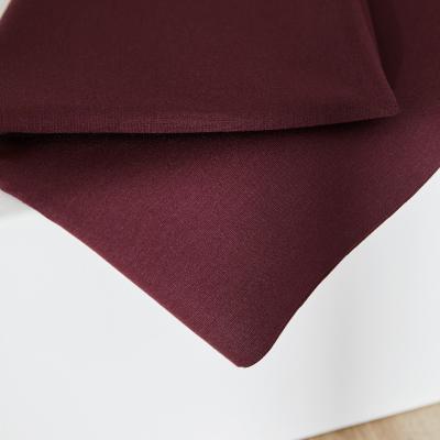 Plain Ponte Knit - Maroon