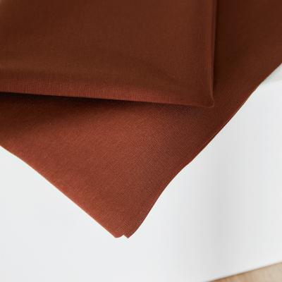 REMNANT 50x160 // Plain Ponte Knit - Pecan