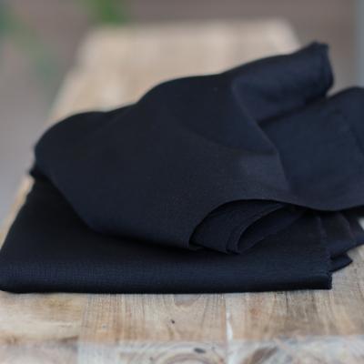 AFKLIP 40x150 // Plain Ponte Knit - Black
