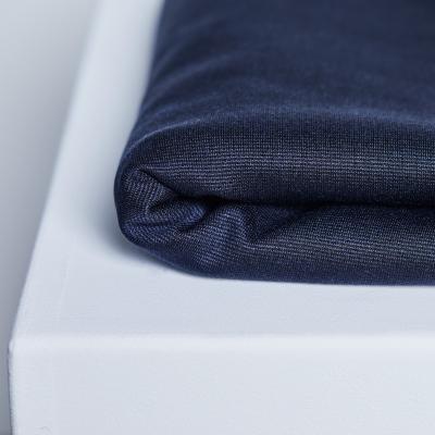 Textured Ponte - Blueberry
