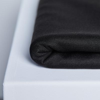 Textured Ponte - Black