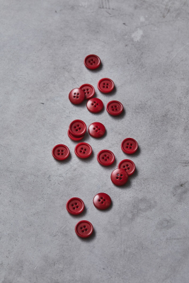 Dish Corozo Button 15 mm - Berry