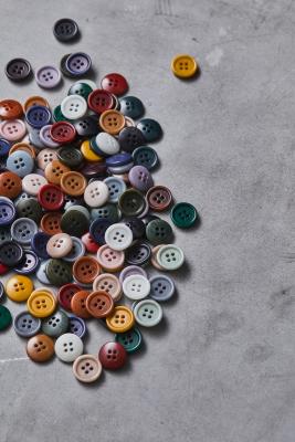 Dish Corozo Button 15 mm
