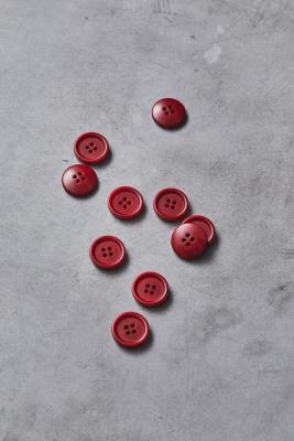 Dish Corozo Button 20 mm - Berry