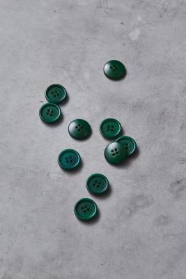 Dish Corozo Button 20 mm - Frog