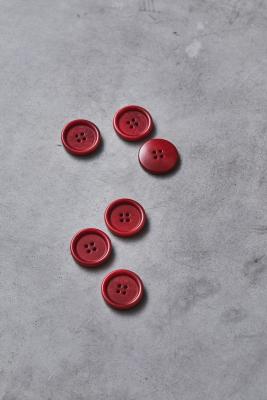 Dish Corozo Button 25 mm - Berry