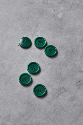 Dish Corozo Button 25 mm - Frog