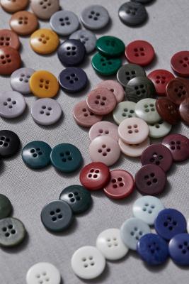 Plain Corozo Button 15 mm