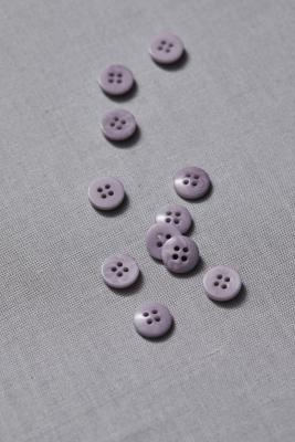 Plain Corozo Button 11 mm - Purple Haze