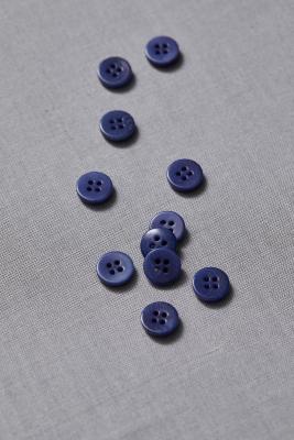 Plain Corozo Button 11 mm - Lapis