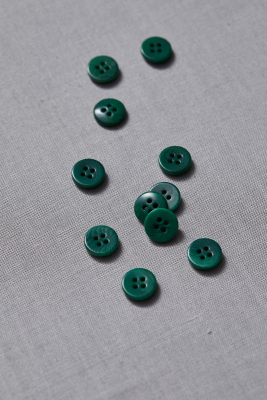Plain Corozo Button 11 mm - Frog