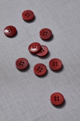 Plain Corozo Button 15 mm - Cider