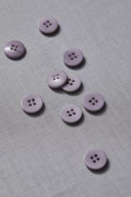 Plain Corozo Button 15 mm - Purple Haze
